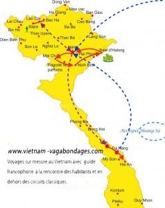 circuit privatif Vietnam Kristelle + enfant de 10 ans