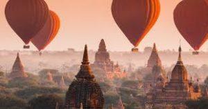 circuit Birmanie - Bagan survol en montgolfière