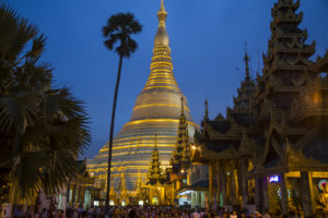 Birmanie Yangon Thidingyut-pagode- Shwedagon