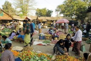 Birmanie treek KALAW village de Chaung Char.