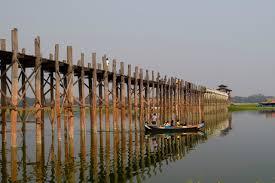 légendaire pont U Bein Birmanie