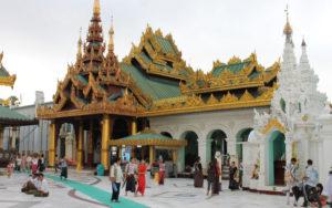 Birmanie Yangon Shwedagon