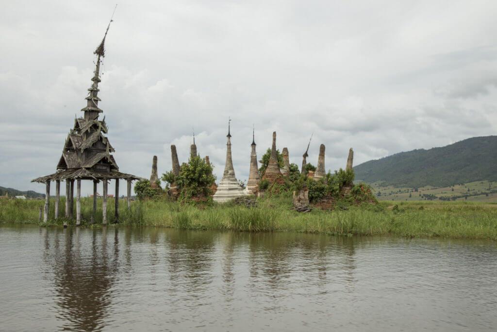 Sagar lac Inlé