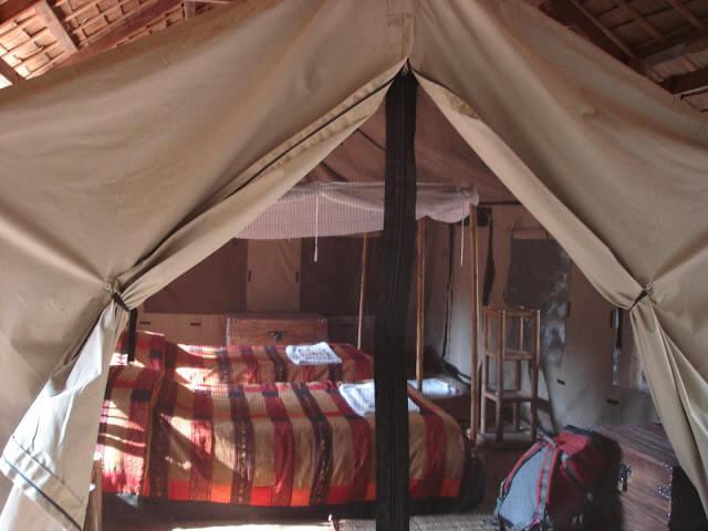 trek Laos Kamu Lodge dormir sous des tentes