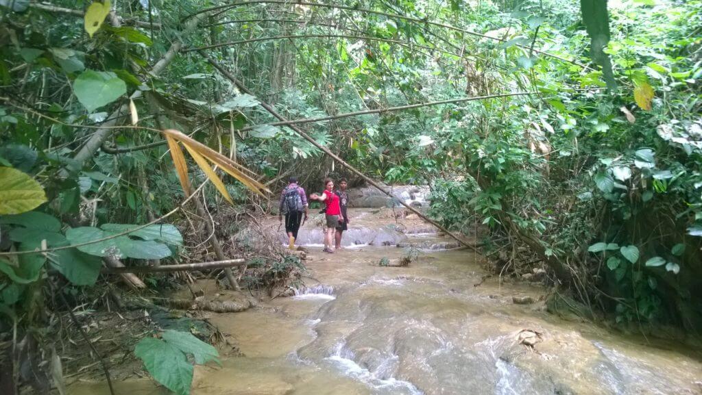 Trek des 100 cascades Laos
