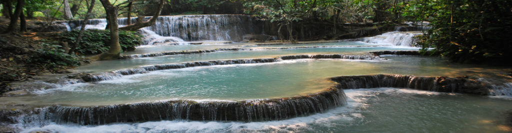 Agence francophone Laos - cascade Kuang Si