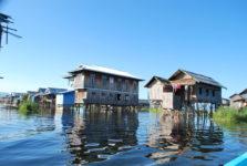agence francophone- village flottant lac Inlé