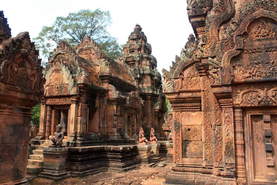 Temple Banteay Srei Cambodge