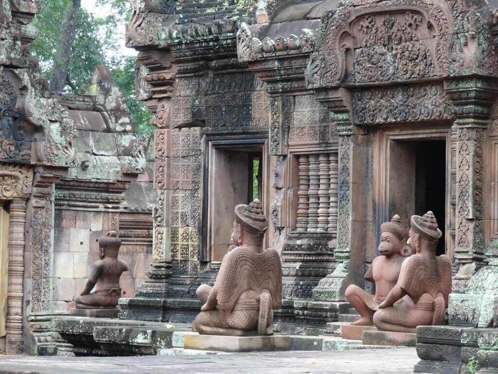 Circuit 10 jours Cambodge - Banteay_Srei_Temple